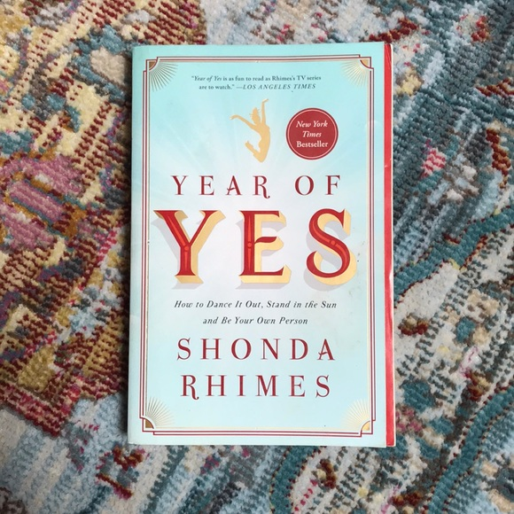 Shonda Rhimes   Year Of Yes Paperback Book